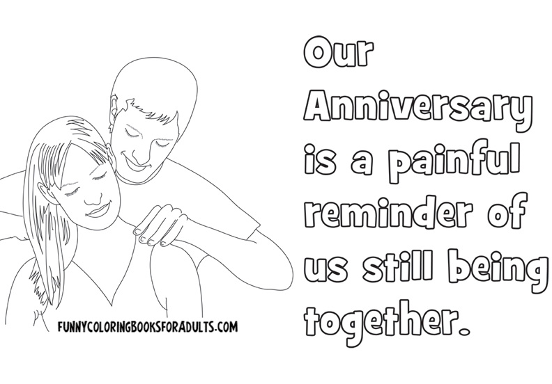 Our Anniversary is a Painful Reminder of Us Still Being Together