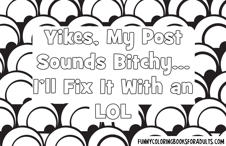 Yikes my post sounds bitchy I better add an lol at the end